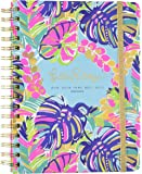 Large 17 Month 2016-2017 Agenda - Exotic Garden