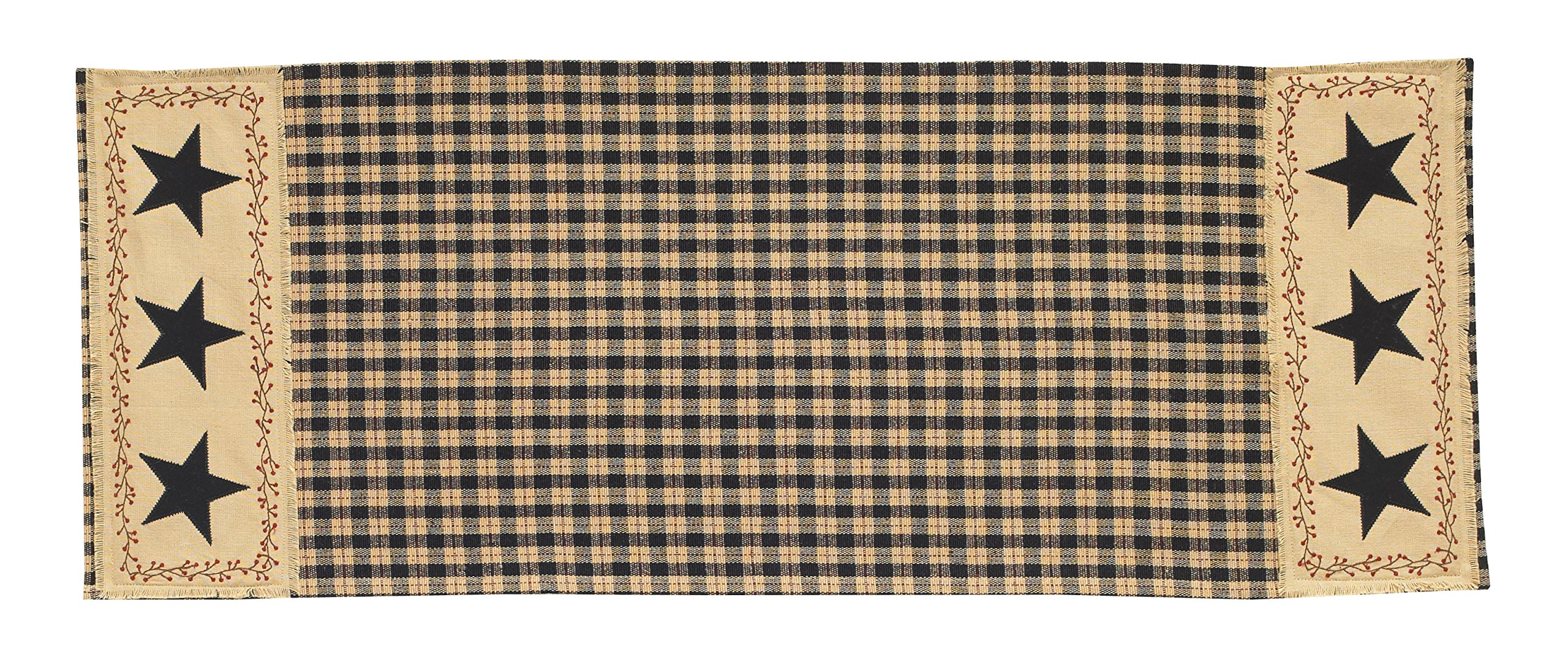 Park Designs Star Patch Table Runner, 13 x 36