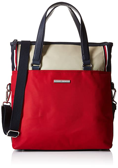 29be60156d6 Tommy Hilfiger Pamela Tote Crossover - Bolso Tote para Mujer
