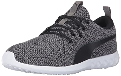 PUMA Men's Carson 2 Knit Sneaker, Quite Shade Black, 7 M US