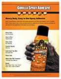 Gorilla Heavy Duty Spray Adhesive, Multipurpose and Repositionable, 11