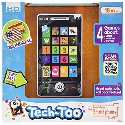 Kidz Delight Smooth Touch Smart Phone: Toys & Games [5Bkhe0306659]