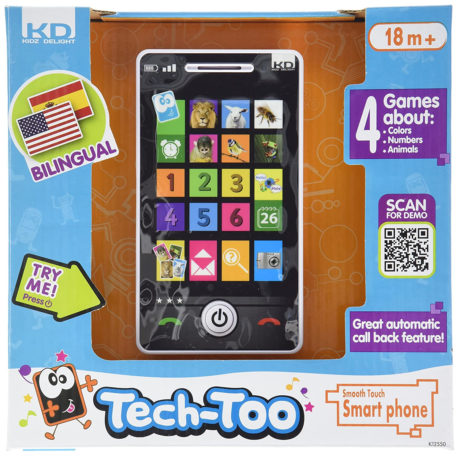 Amazon Kidz Delight Smooth Touch Smart Phone Baby Shape