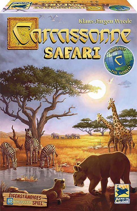 Schmidt Spiele Hans en Suerte 48283 Carcassonne, Safari: Amazon.es: Juguetes y juegos