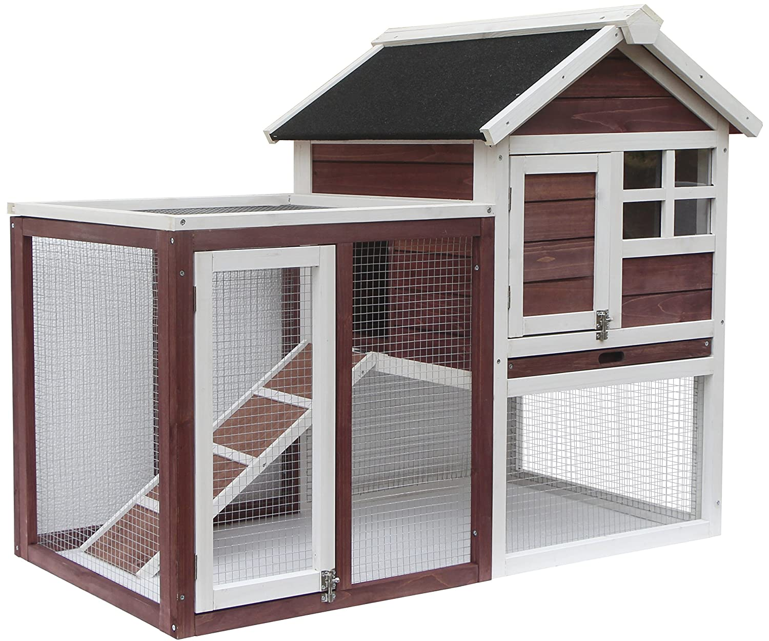 Bunny Hutch House With Run