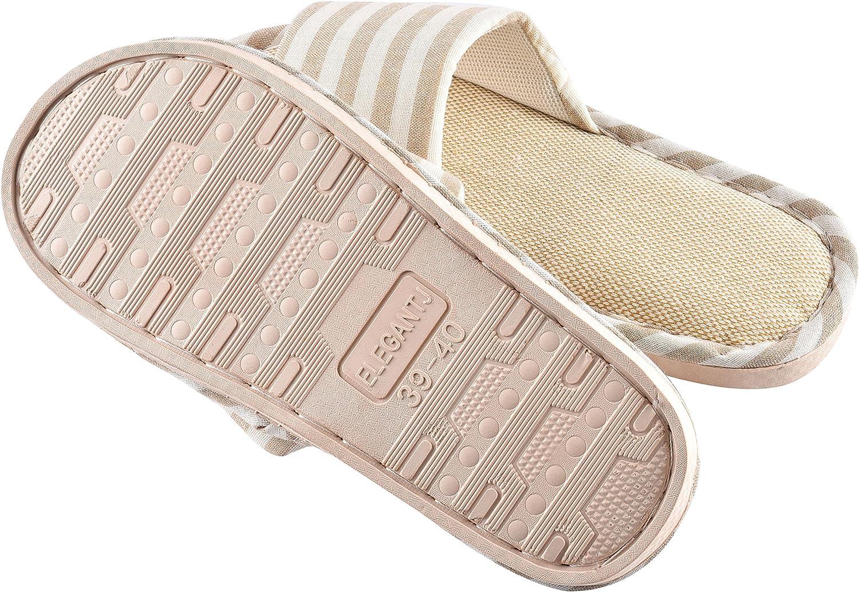 Cityelf Pantoufles Femmes M/émoire Mousse Souple Maison Chaussures Int/érieur Pantoufles Anti-Slip L/éger