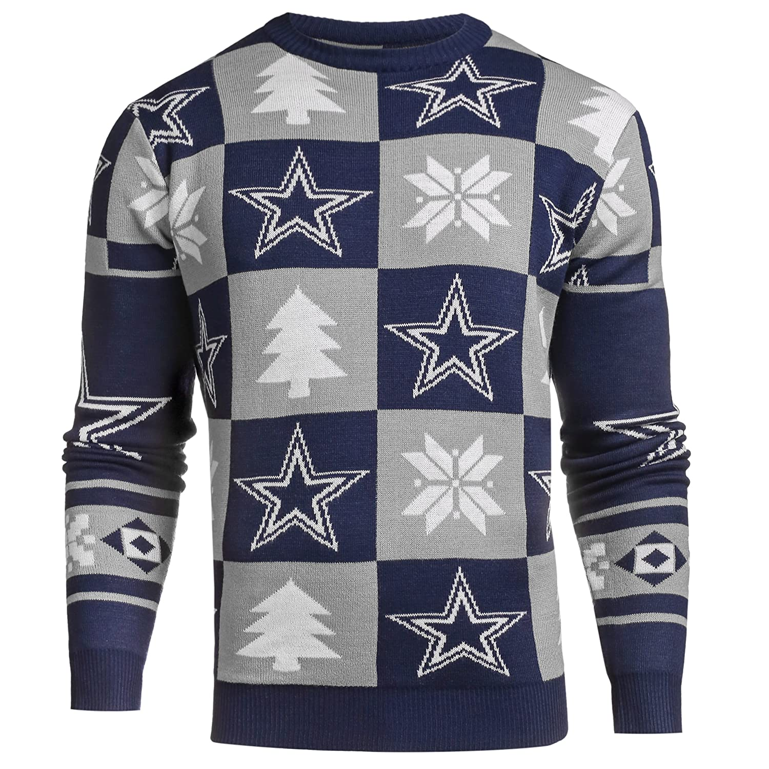 DALLAS 2016 PATCHES UGLY SWEATER