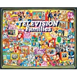 White Mountain Puzzles TV Families - 1000 Piece Jigsaw Puzzle