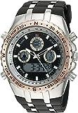 U.S. Polo Assn. Sport Men's Quartz Metal and Rubber Casual Watch, Color:Black (Model: US9373)