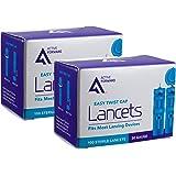 Active1st 30 Gauge Sterile Blood Lancets, 200 Count