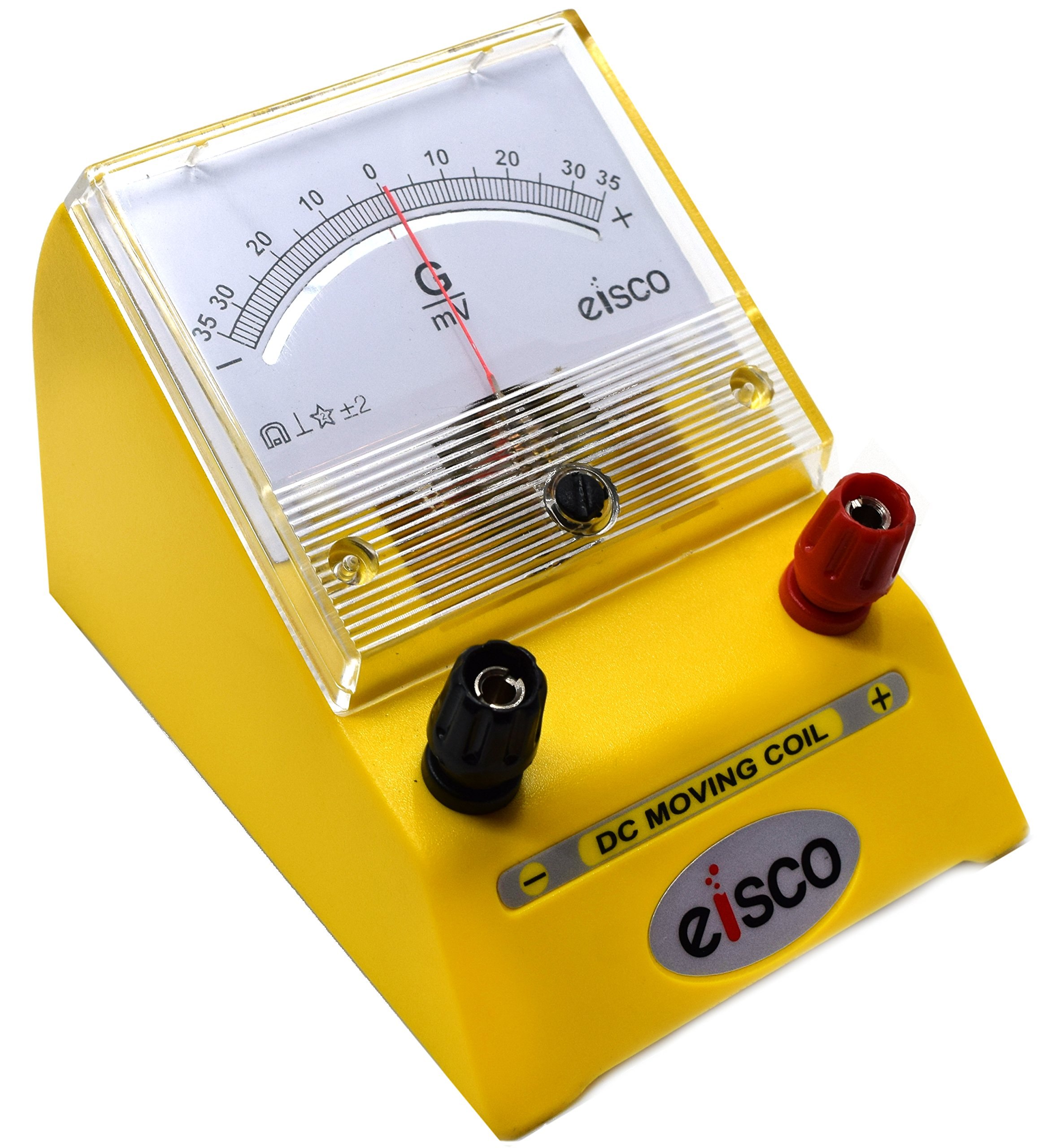 Moving Coil Meters DC Galvanometer - Type EDM-80, 35-0-35 mV Sensitivity 1mV/Div - Eisco Labs