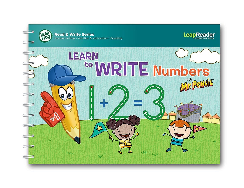 Amazon.com: LeapFrog LeapReader Writing Workbook: Learn to Write ...