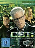 CSI: Crime Scene Investigation - Season 15.2 [3 DVDs]