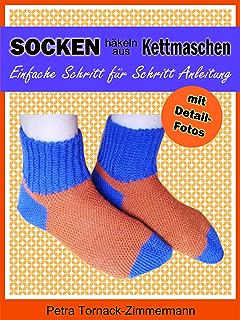 Socken Häkeln Schnell Einfach Mit Der Neuen Stufen Methode Ebook