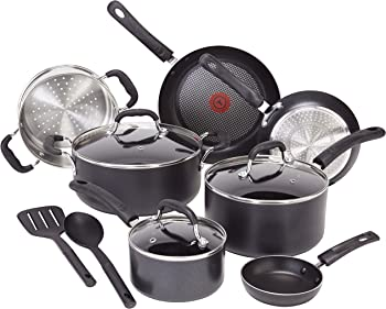 12-Piece T-fal Professional Total Nonstick Induction Base Cookware Set