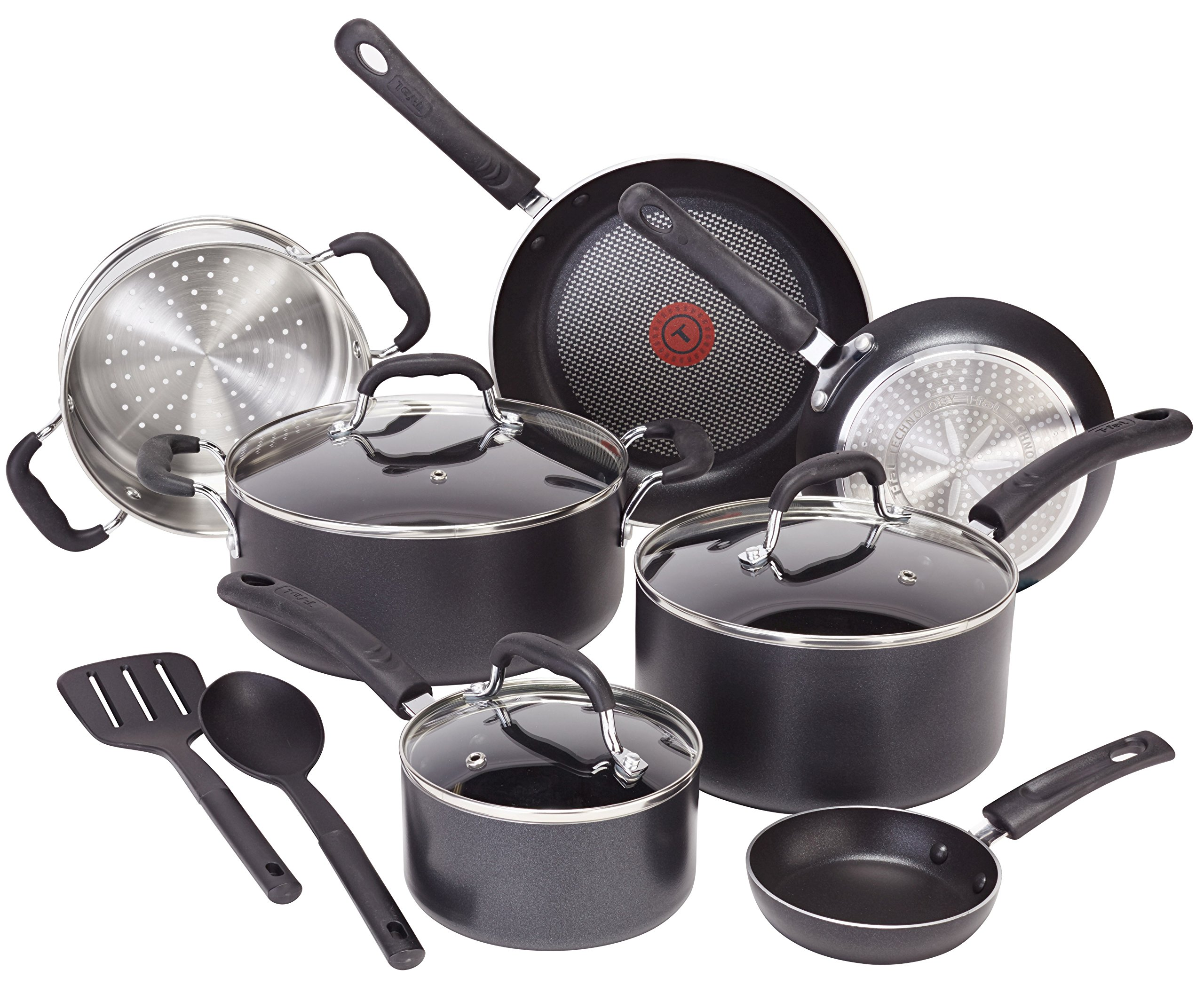 T-fal-C530SC-Signature-Nonstick-Expert-Thermo-Spot-Heat-Indicator-Dishwasher-Safe-Cookware-Set-12-Piece-Black