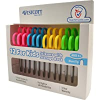 Deals on 12-Pack Westcott School Left and Right Handed Kids Scissors 5-inch