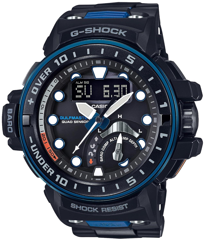 [カシオ]CASIO 腕時計 G-SHOCK ガルフマスター 世界6局対応電波ソーラー GWN-Q1000MC-1A2JF メンズ B01LXM8GYF