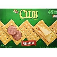 Keebler Original Club Crackers Four 13.7 oz. Boxes - PACK OF 2