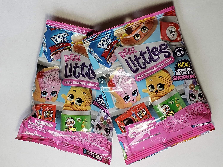 Shopkins Real Littles ~ Surprise Set of 2 Packs