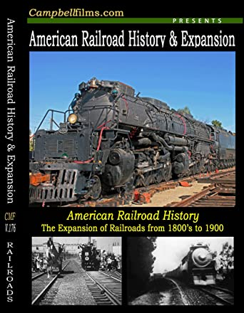Amazon com: American Railroad History and Expansion 19th