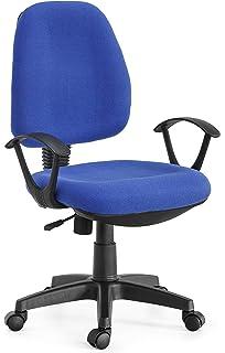 Techly Sedia per Ufficio Easy Colore Blu (ICA-CT MC04BLU): Amazon.it ...
