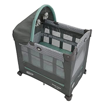 5a79c97156f Amazon.com   Graco Travel Lite Crib with Stages