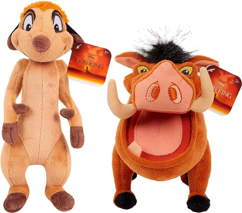 Disney The Lion King - Timon and Pumba - Set of 2 Small Plush ...