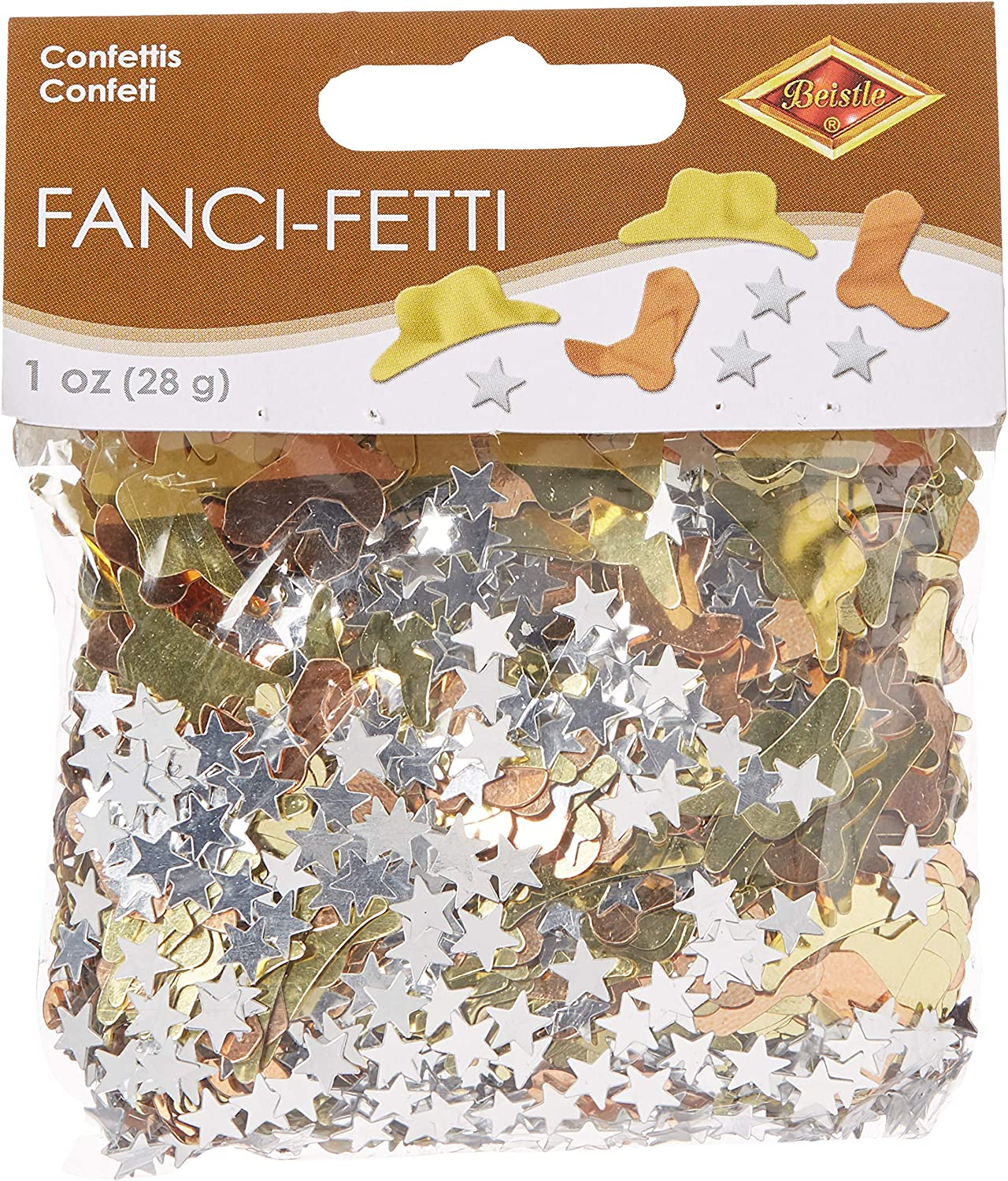 BEISTle CN083 Western Party Confetti