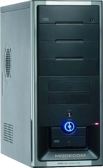 Mode Com Swing Midi 8300 - Caja de Ordenador (Midi-Tower, PC, ATX, Micro-ATX, 500W, 18 cm, 40 cm) Negro: Amazon.es: Informática