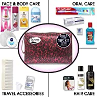 Convenience Kits Women's Premium 19-Piece Travel Kit, Featuring: Tresemme Hair Products