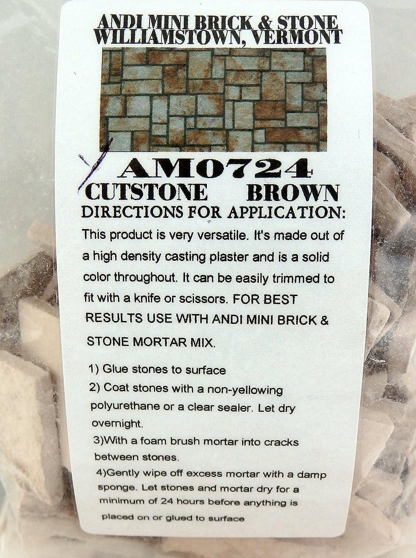 Casa De Muñecas Gris Corte Chapa de piedra ladrillo pavimentación Accesorio de jardín escala 1:12