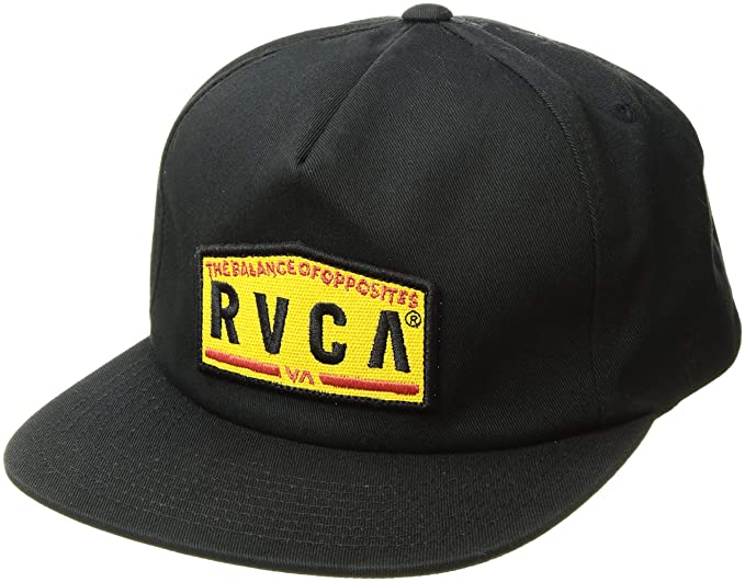 Amazon.com  RVCA Men s Wrecking Crew Snapback HAT 052b2b4f5d7e