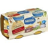 Nestlé Naturnes - Selección Judías Verdes y Patatas con Ternera - A partir de 6 meses - 2 x…