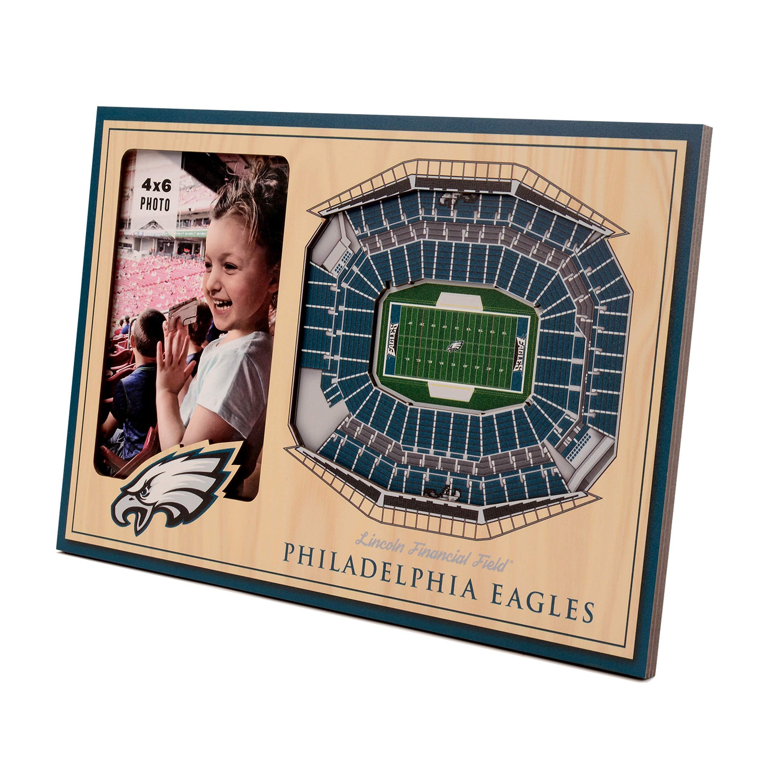 NFL Philadelphia Eagles 3D StadiumViews Picture Frame by YouTheFan