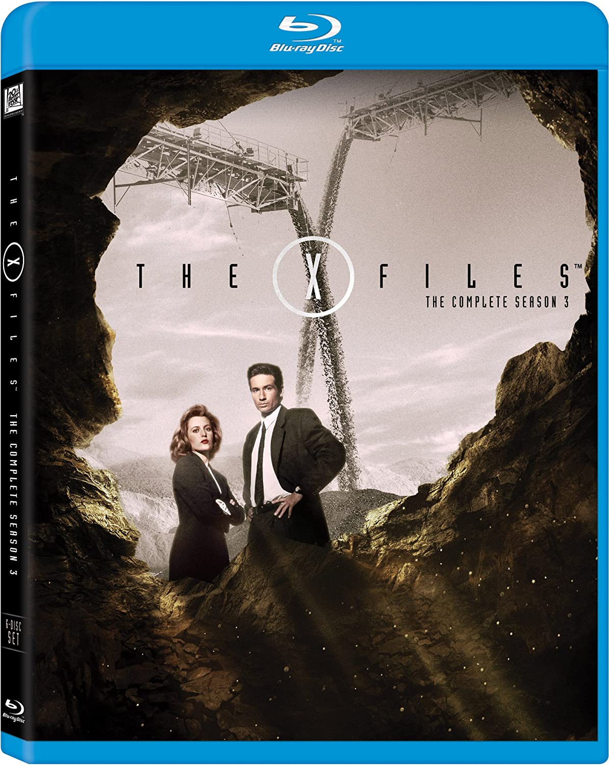 Amazon X Files The Complete Season 3 Blu Ray David Duchovny Gillian Anderson R W Goodwin Rob Bowman Kim Manners Nutter Movies TV