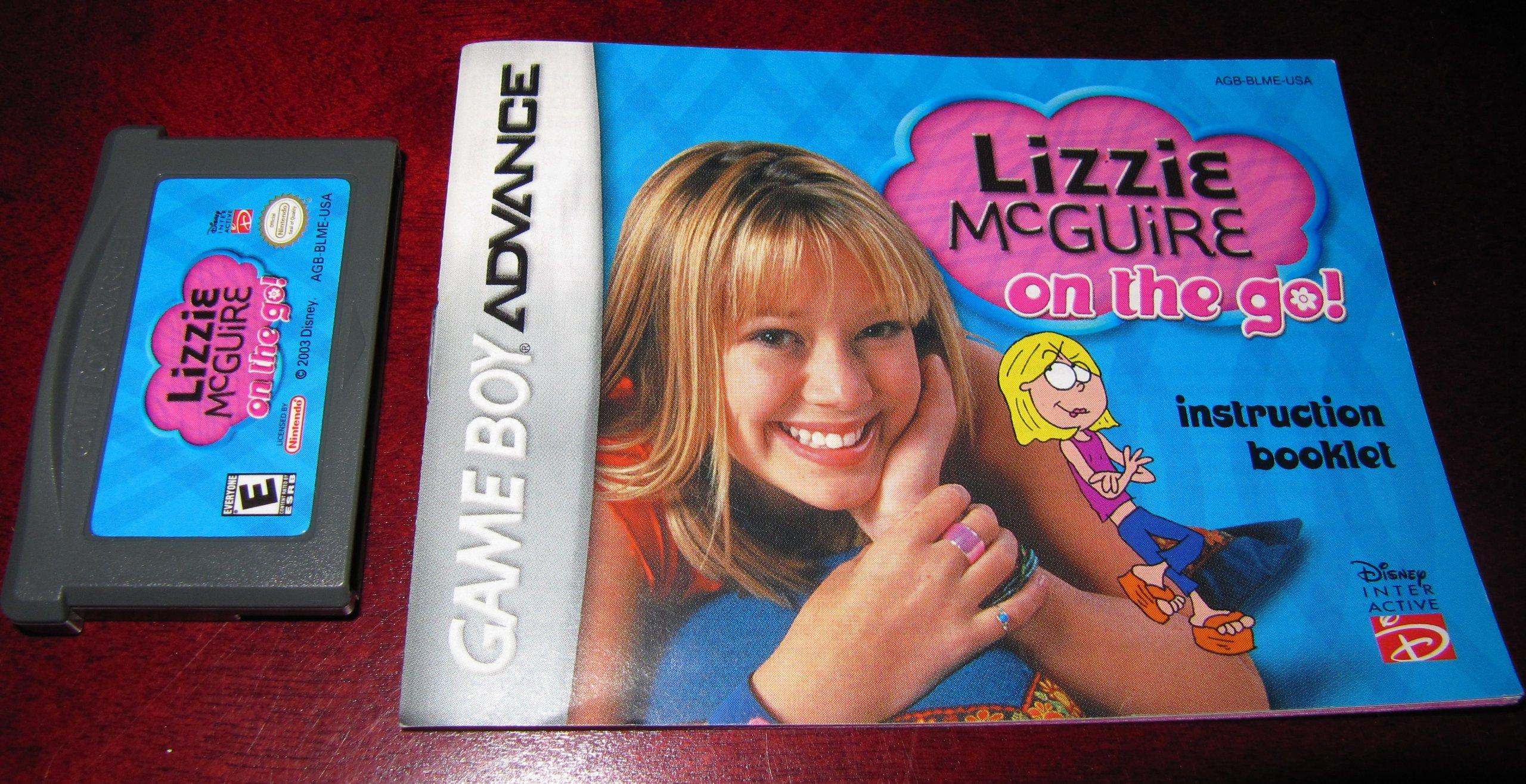 lizzie mcguire game boy advance