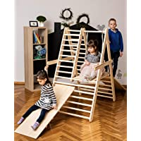 Gym for toddlers, Step Triangle, Climbing ladder for toddler, Climbing triangle for toddlers, Triangle with ramp, Toddler gym