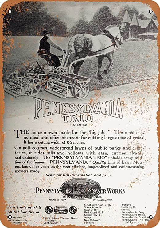 Amazon.com: 7 x 10 Metal Sign – 1920 Pennsylvania ...
