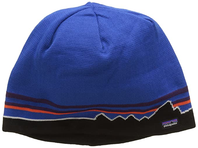 cd36acc1ab9 Patagonia Men s Beanie Knit Hat Classic Fitz Roy Andes Blue Size One Size  (21