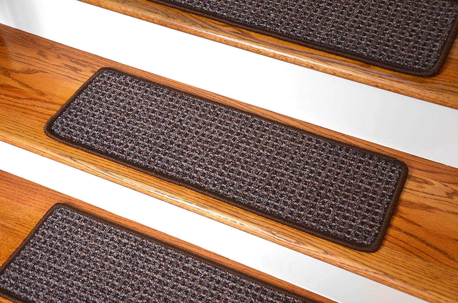 Washable Non Skid Carpet Stair Treads   Cobbler Brown (15): Staircase Step  Treads: Amazon.com: Industrial U0026 Scientific