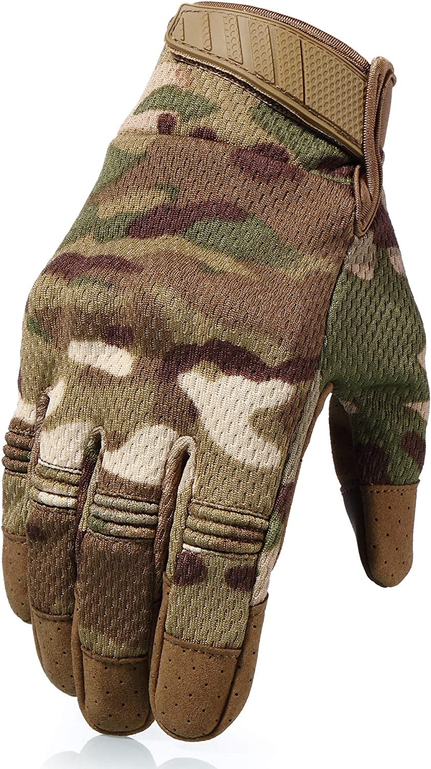 AXBXCX Breathable Flexible Touch Screen Full Finger Gloves
