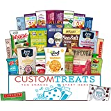 Healthy Vegan Snack Assortment Care Package - Popcorn, Chips, Puffs, Nuts, Bars, Fruit Snacks (24 Count)