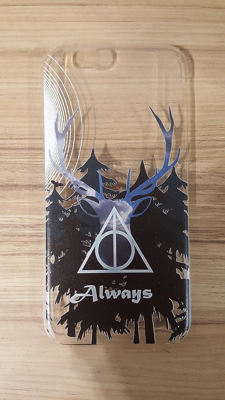 Amazoncom Harry Potter Patronus Deer Iphone 6s 6 Case