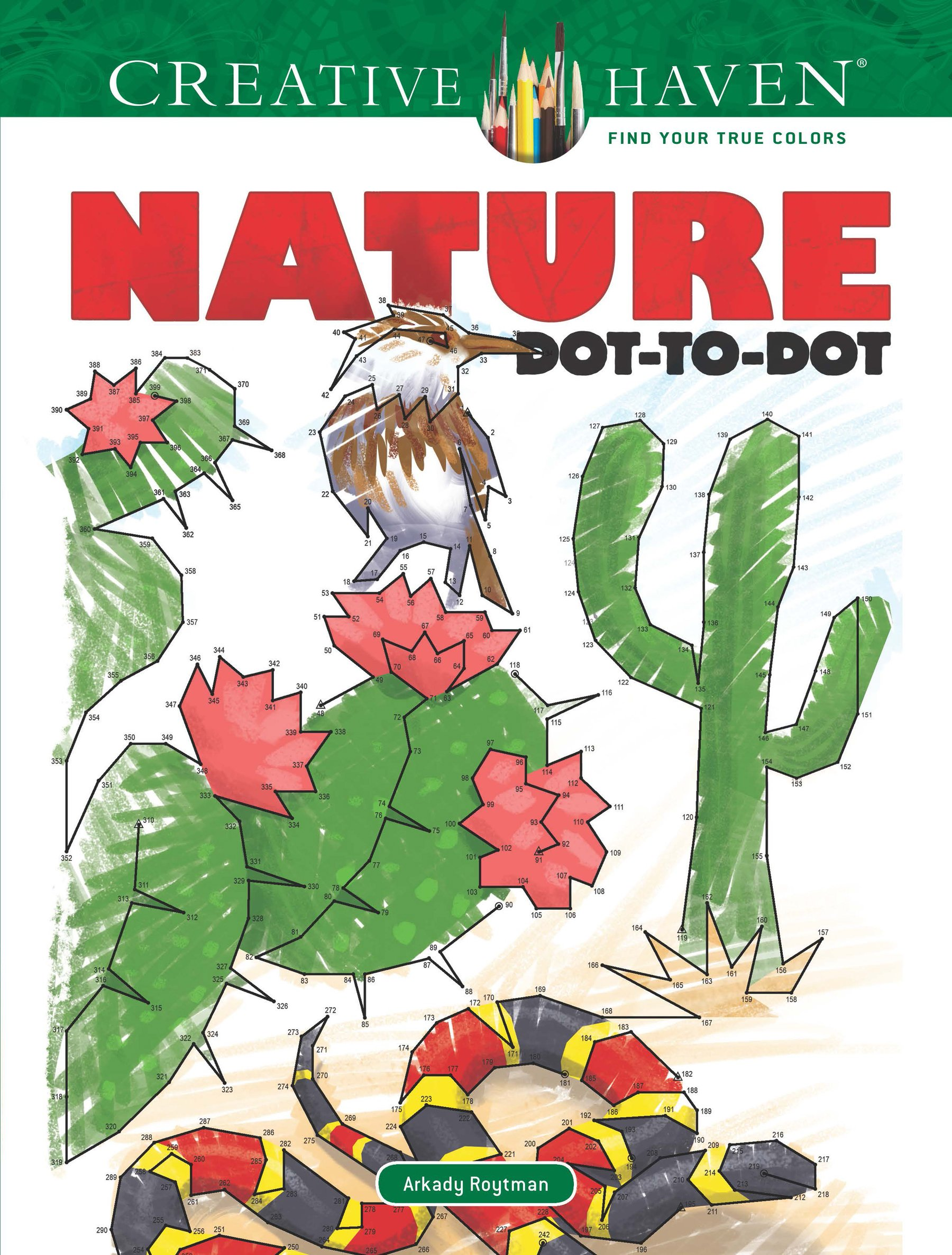 Read Online Creative Haven Nature Dot-to-Dot (Adult Coloring) pdf