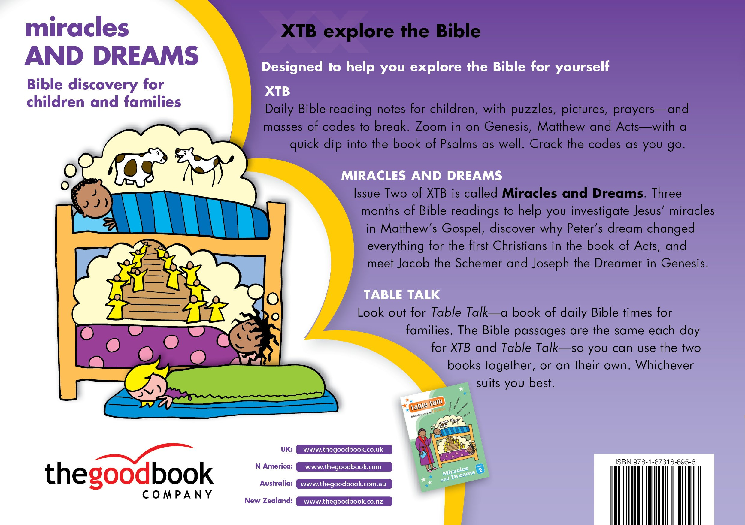 xtb 2 miracles u0026 dreams bible discovery for children amazon co