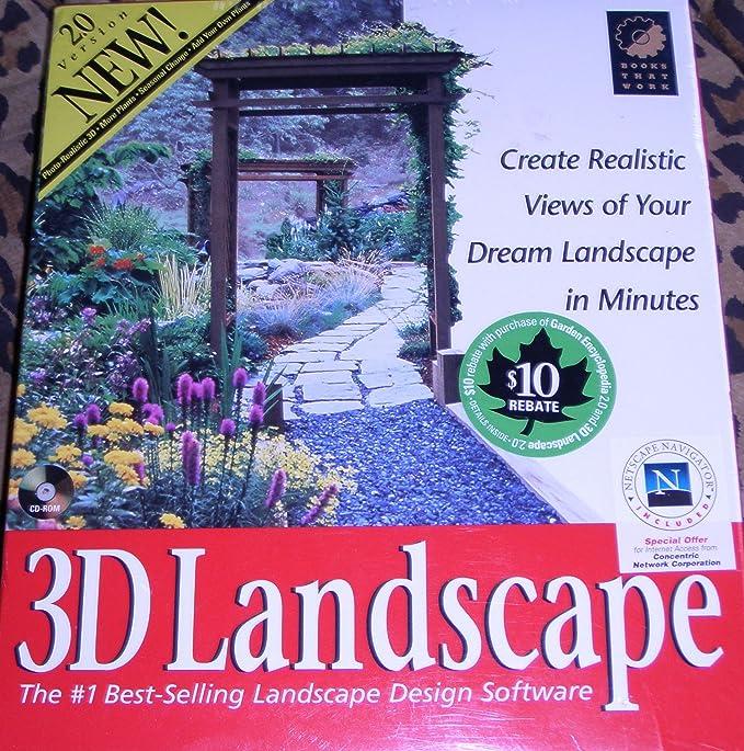 Amazon Com 3d Landscape The 1 Best Selling Landscape Design