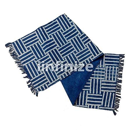 iinfinize - Alfombra Decorativa para el Suelo de Color Azul ...