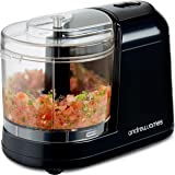 Andrew James 250W Compact Mini Chopper Food Processor With Removable 400ML Bowl