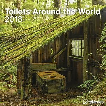 CALENDRIER 2018 TOILETTES - WC - Cabane au fond du jardin - Tour du ...